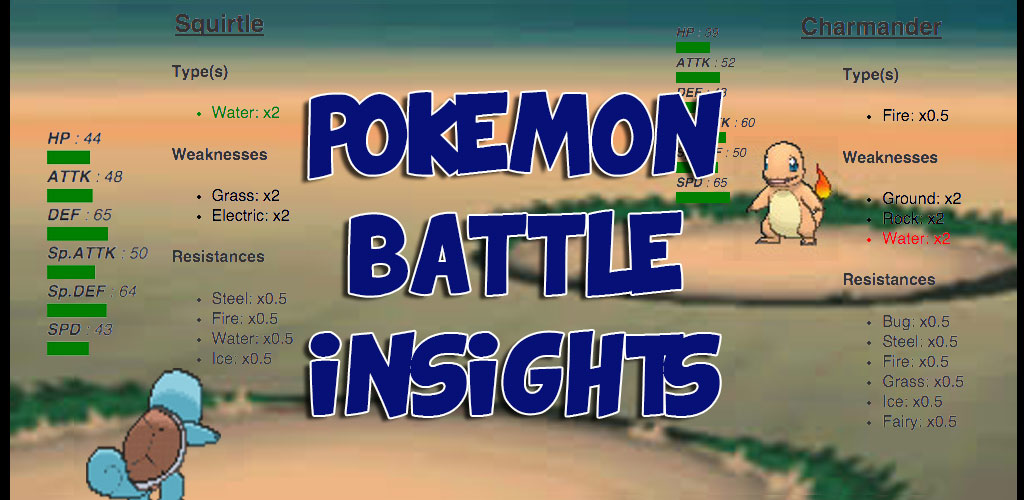 Battle Insights for Pokemon